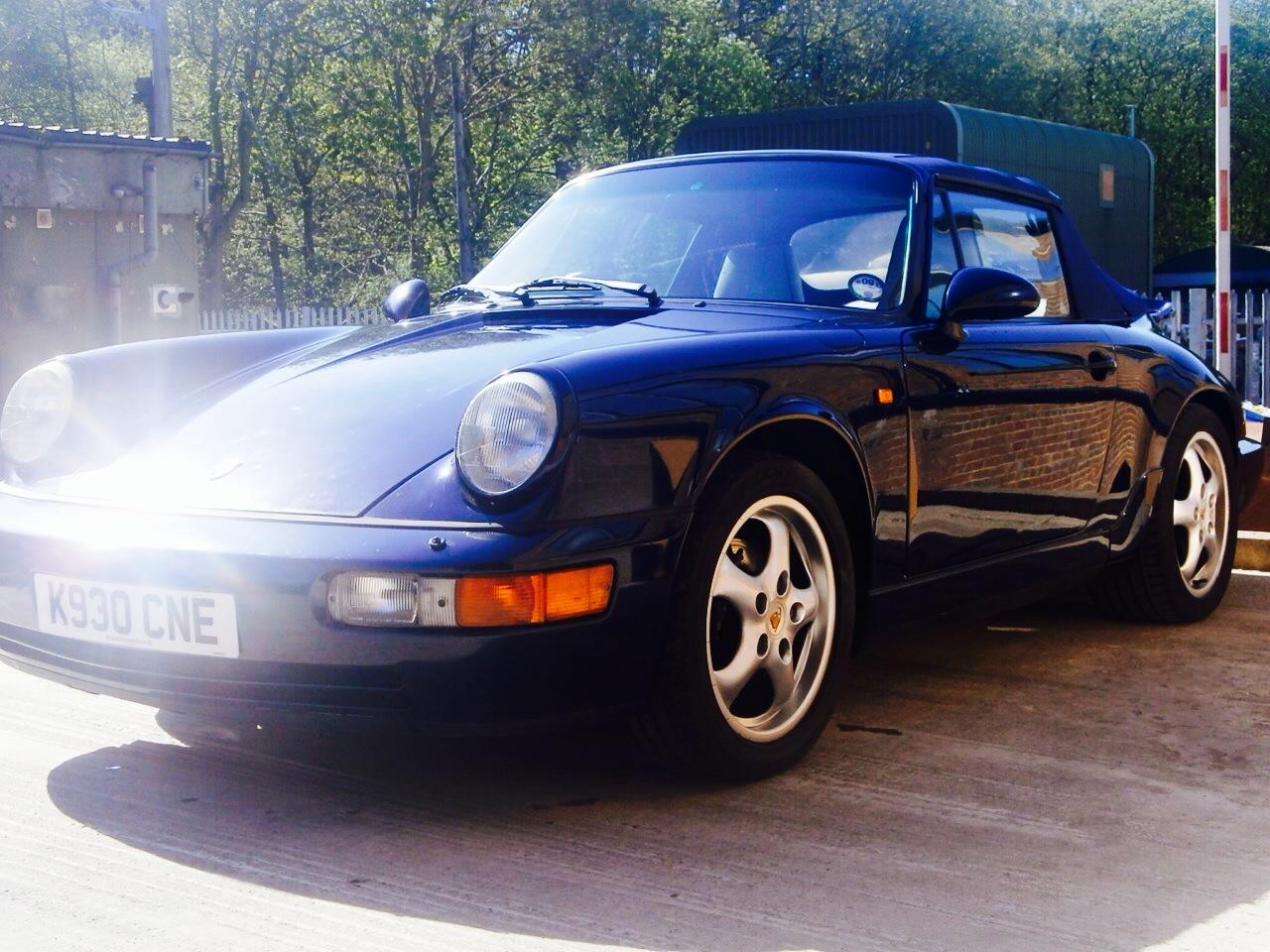 Classic 1993 964 Porsche Cabriolet