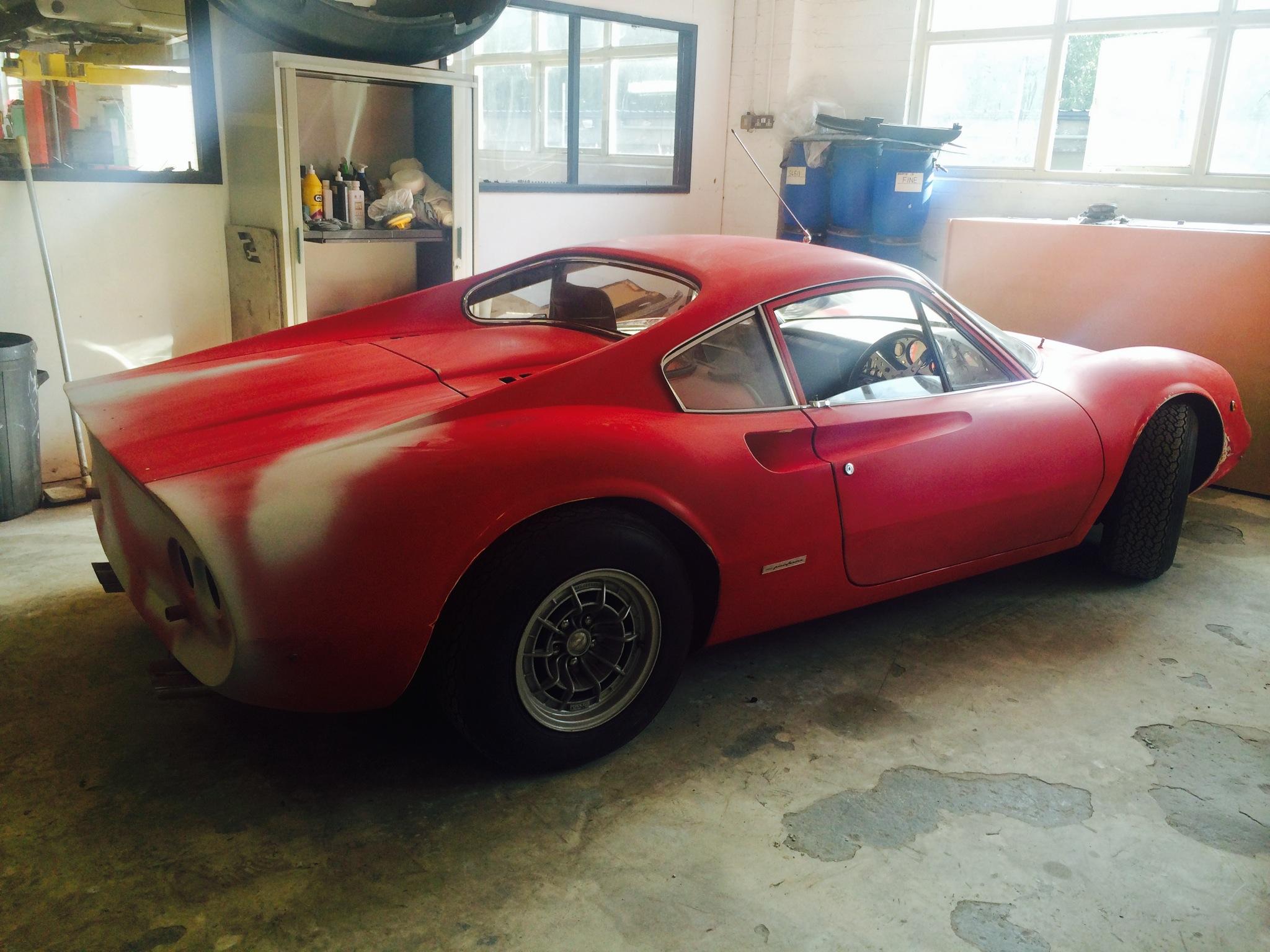 Rare 1972 Ferrari Dino 246 GT