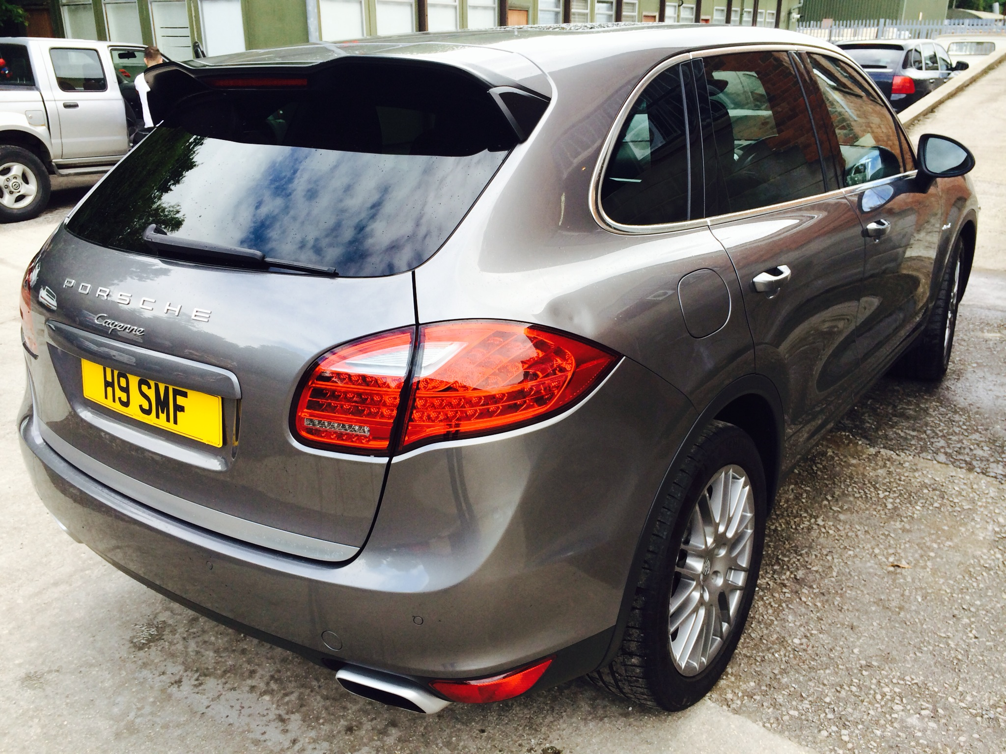 Gorgeous New Shape V6 Diesel Cayenne