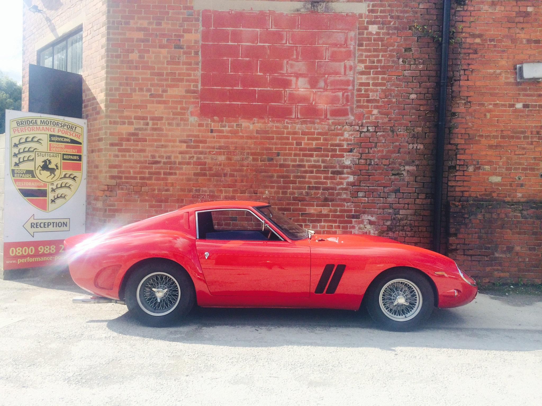 Incredible Ferrari 250 GTO Replica