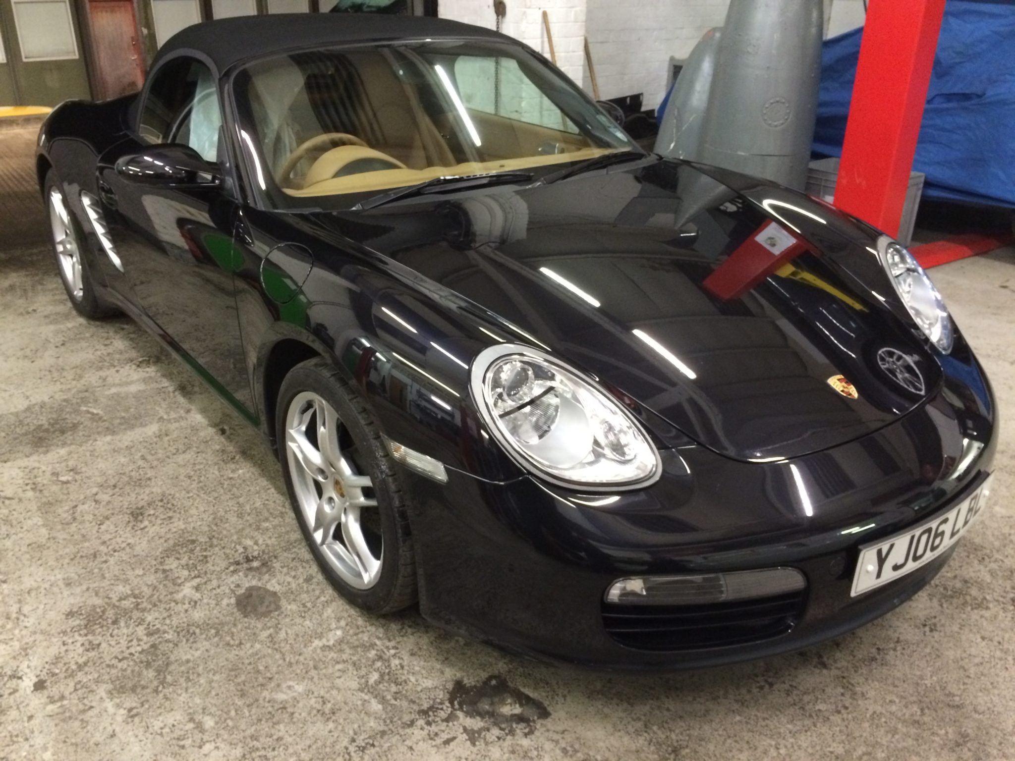 Gleaming 987 Boxster