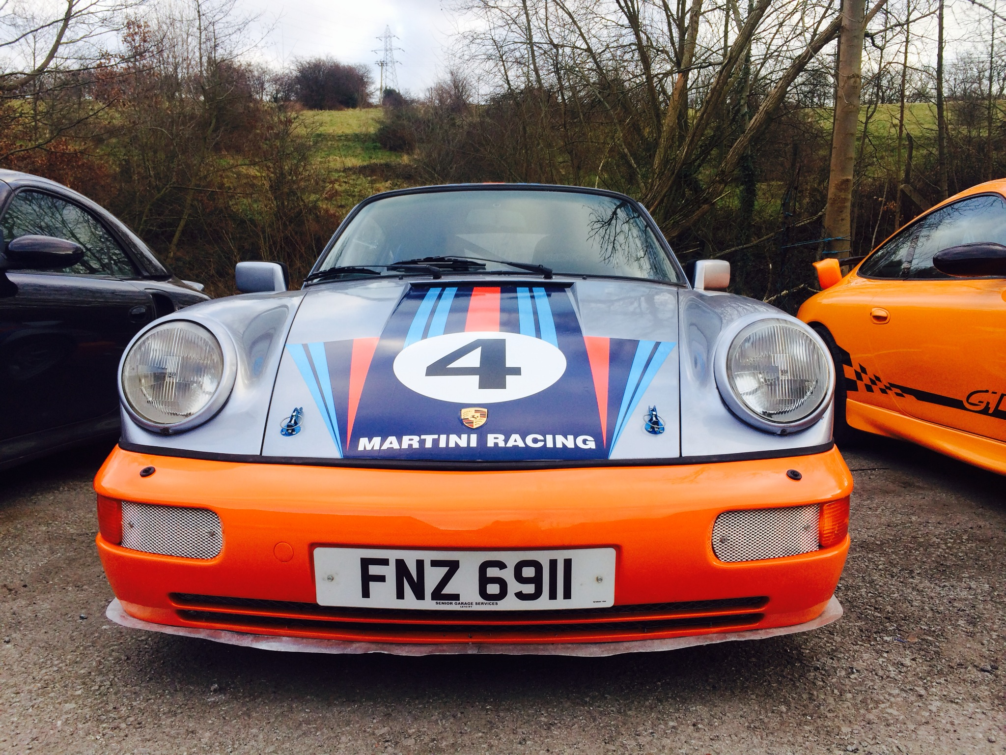 For Sale: Stunning Porsche 911 SC Martini RS Replica