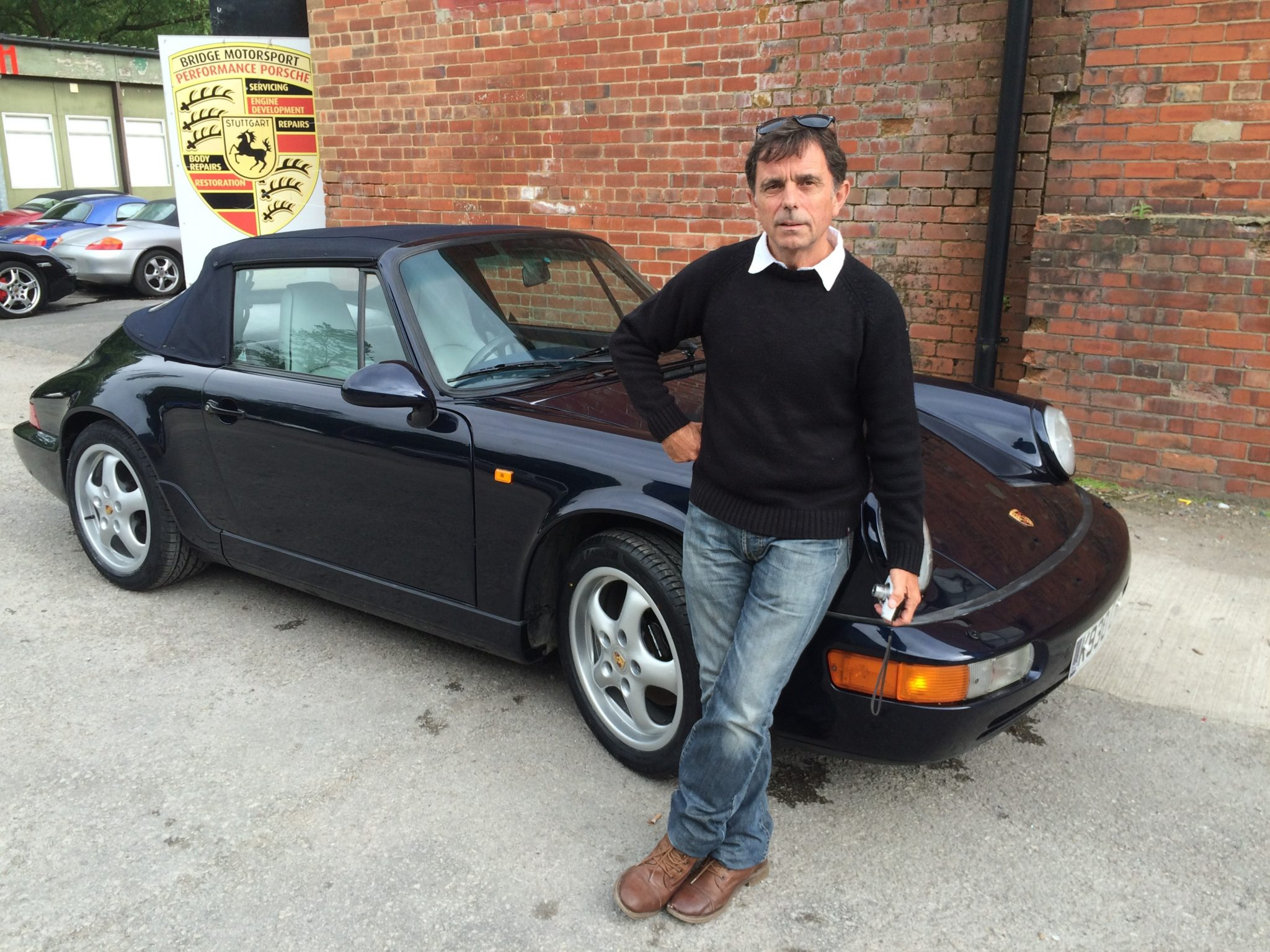 David Completes His 3,400 Mile Round Trip With His Newly Commissioned 964 Cabriolet