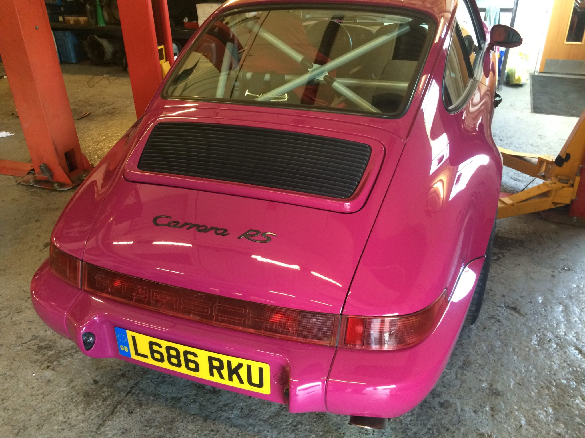 Rare Air Cooled Classic 964 RS