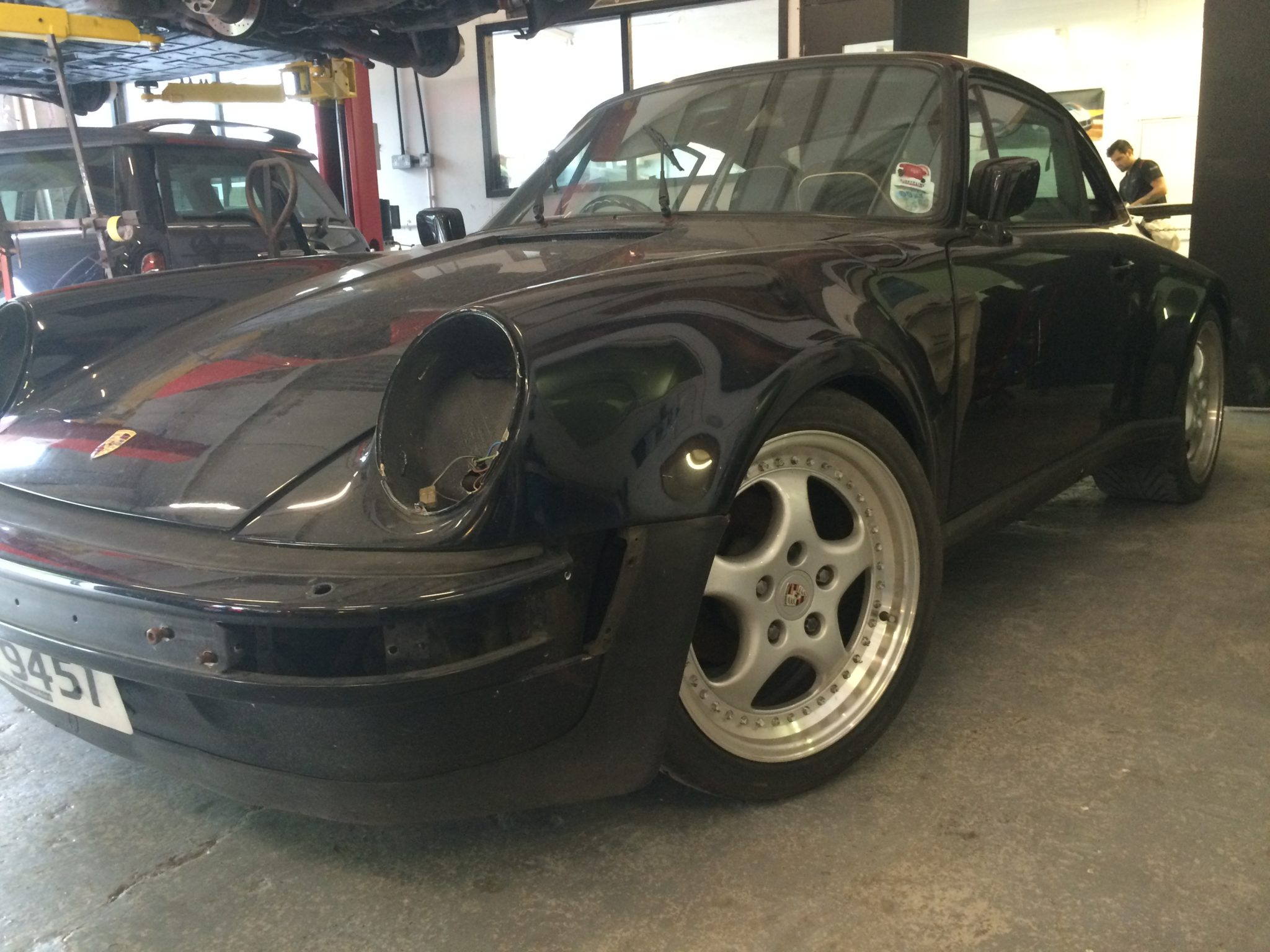 Black Widebody 1979 SC In For Restoration