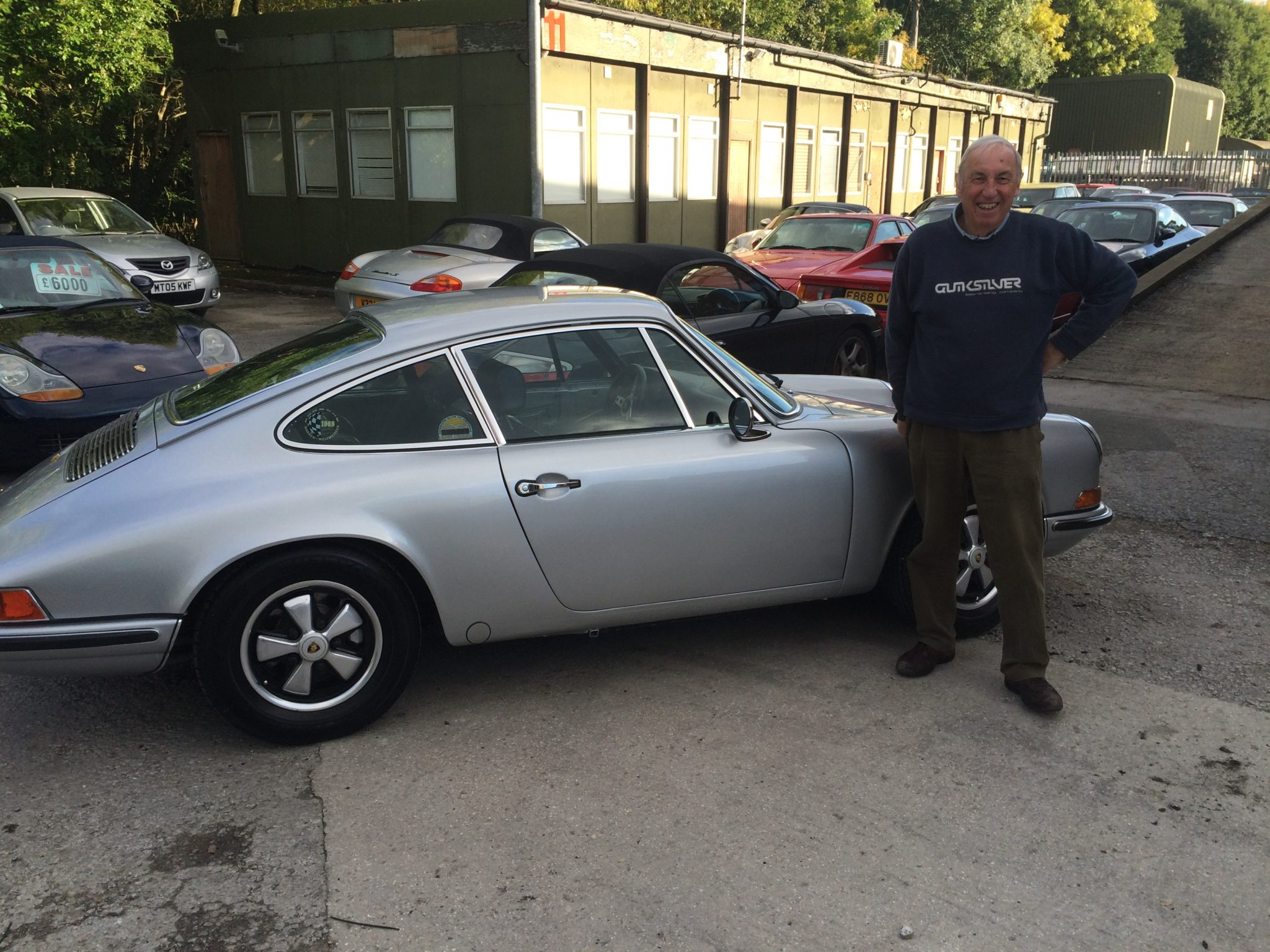 DAVID'S IMMACULATE 1970 911 E COMPLETED