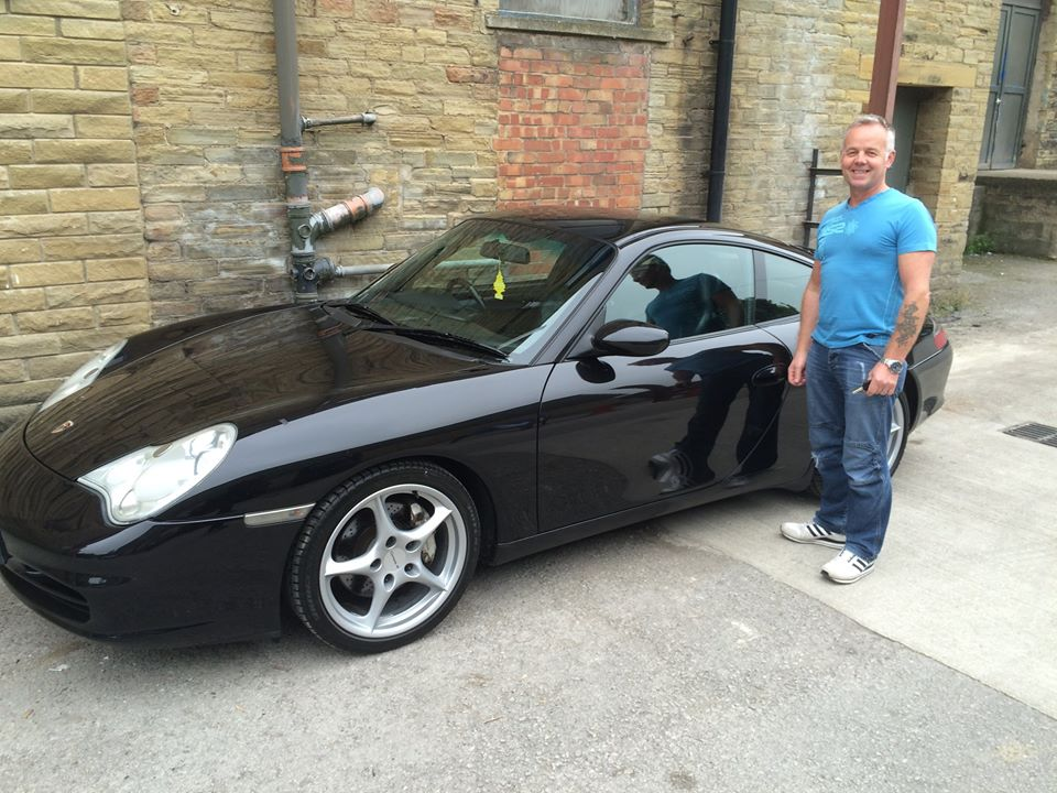 GAVIN FROM STAFFORDSHIRE PROUD NEW PORSCHE OWNER