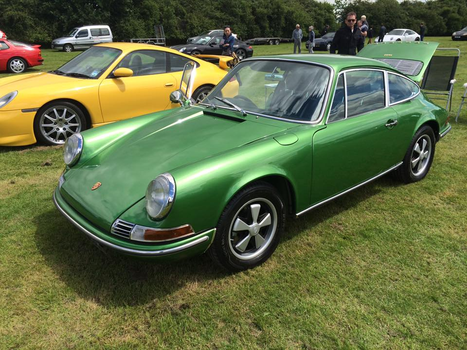 KLASSIKER 911 No1 Car Gets Its 1st Public Airing At The Yorkshire Porsche Festival On Sunday