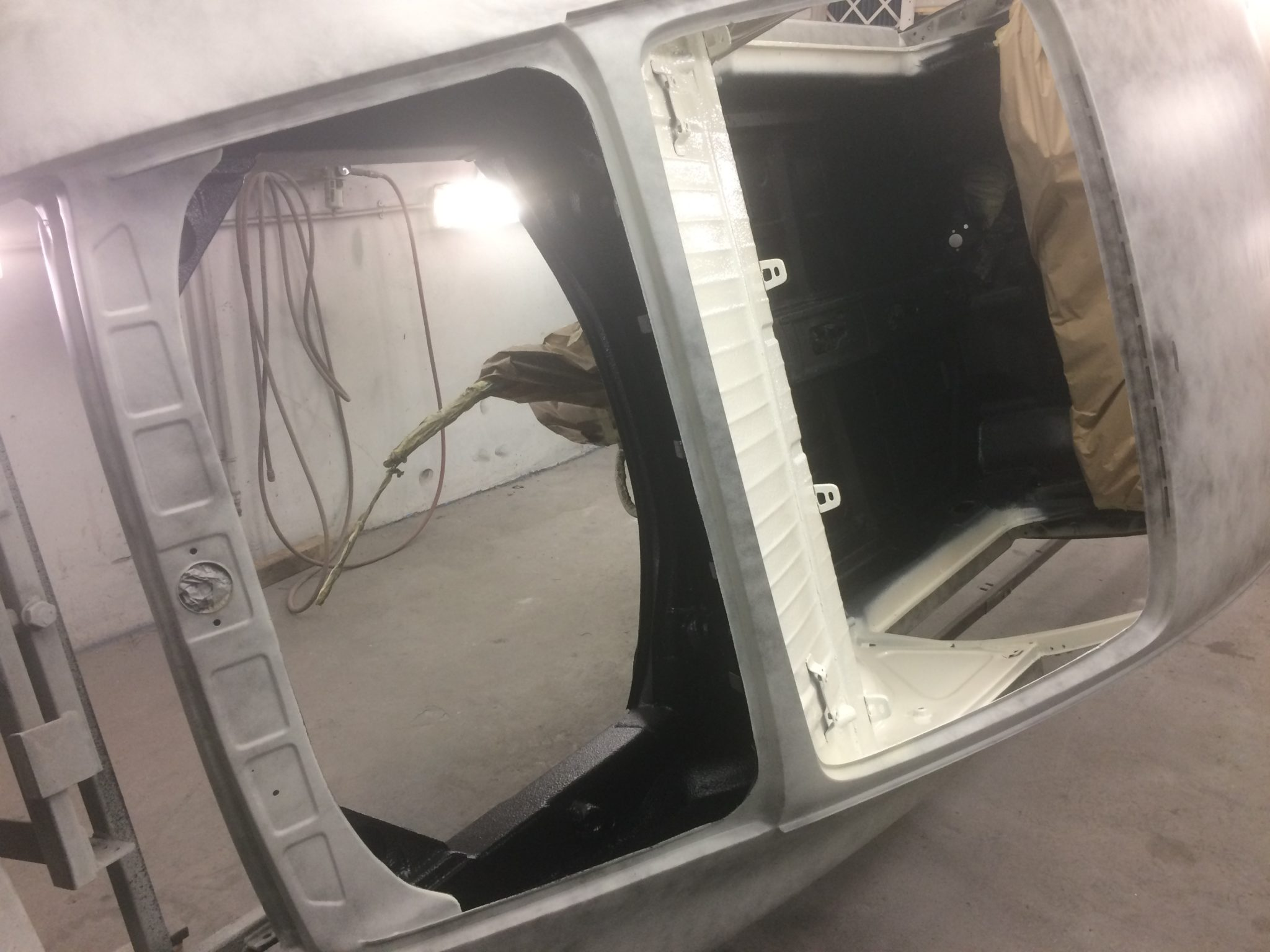 Andy's SWB 68 911 Nears Completion