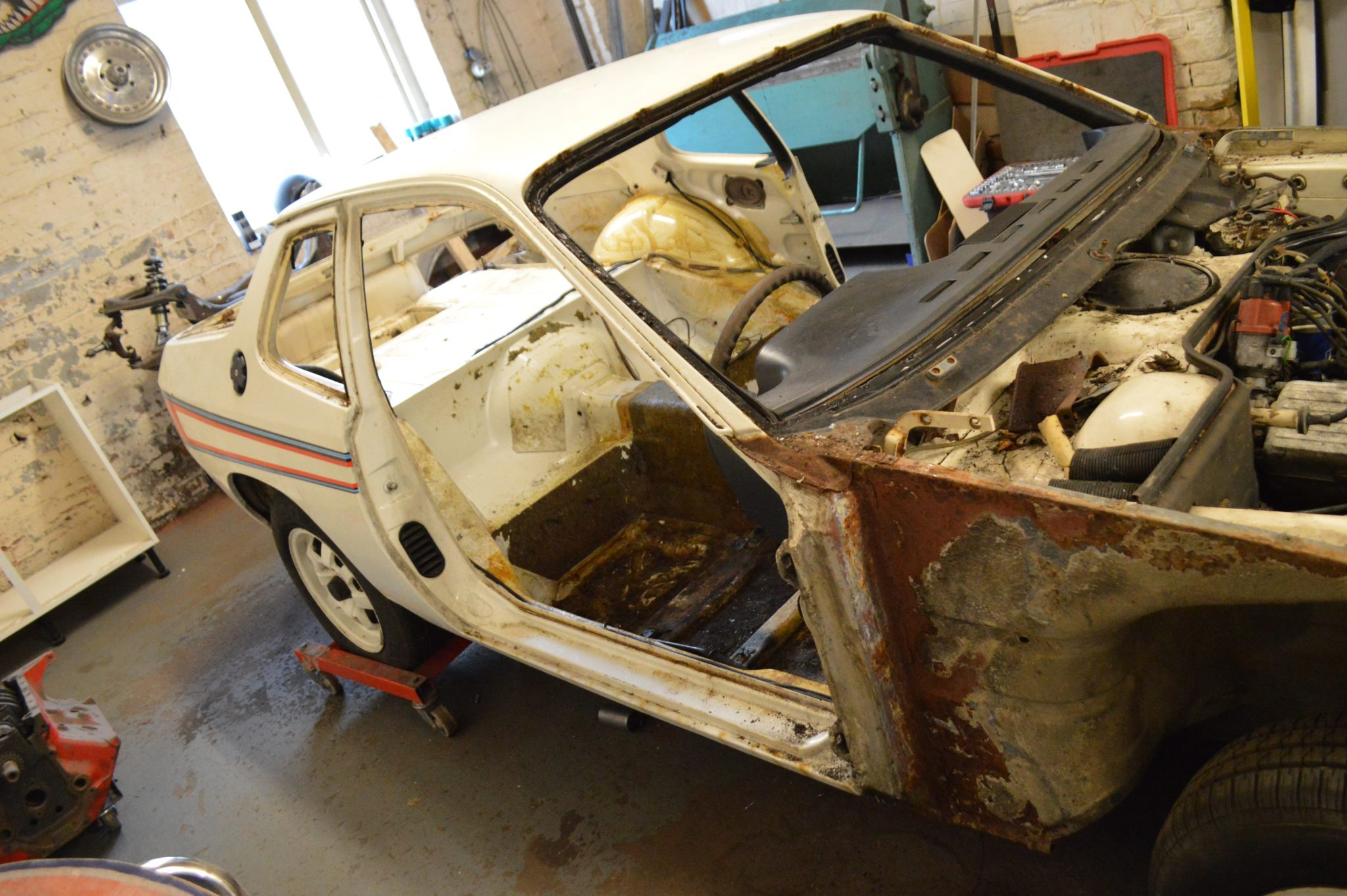 VERY RARE MARTINI 924 PROGRESS UPDATE.