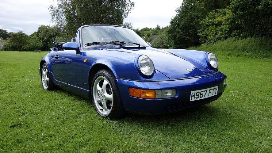 FOR SALE – Porsche 911 Convertible 964 Carrera 4 Cabriolet