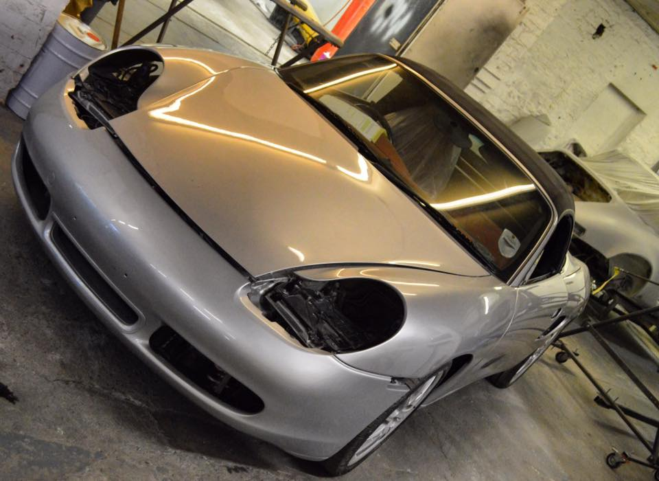 Fresh Paint Job For Neil's Boxster S