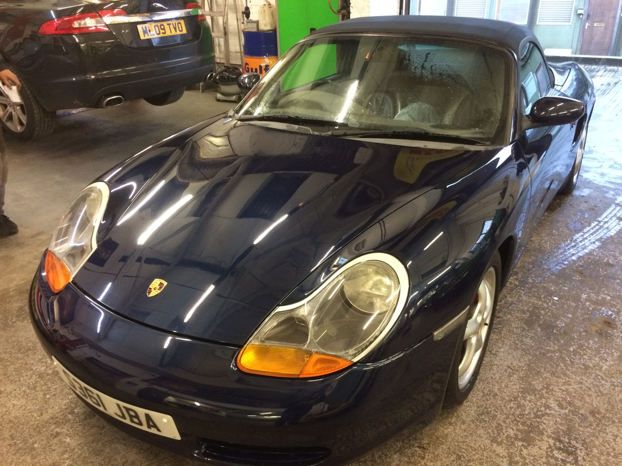 For Sale. £3,800. Our Own Boxster 2.5 In Stunning Metallic Blue