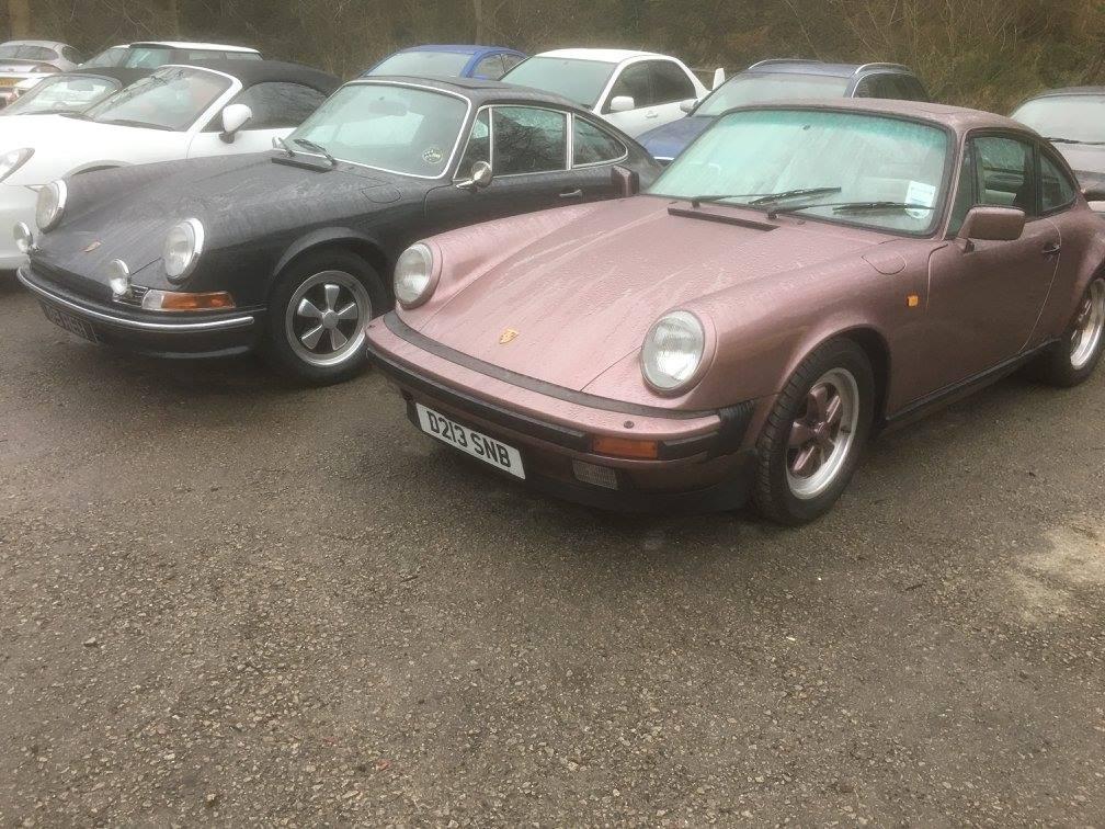 1987 911 3.2 Coupe Restoration Work