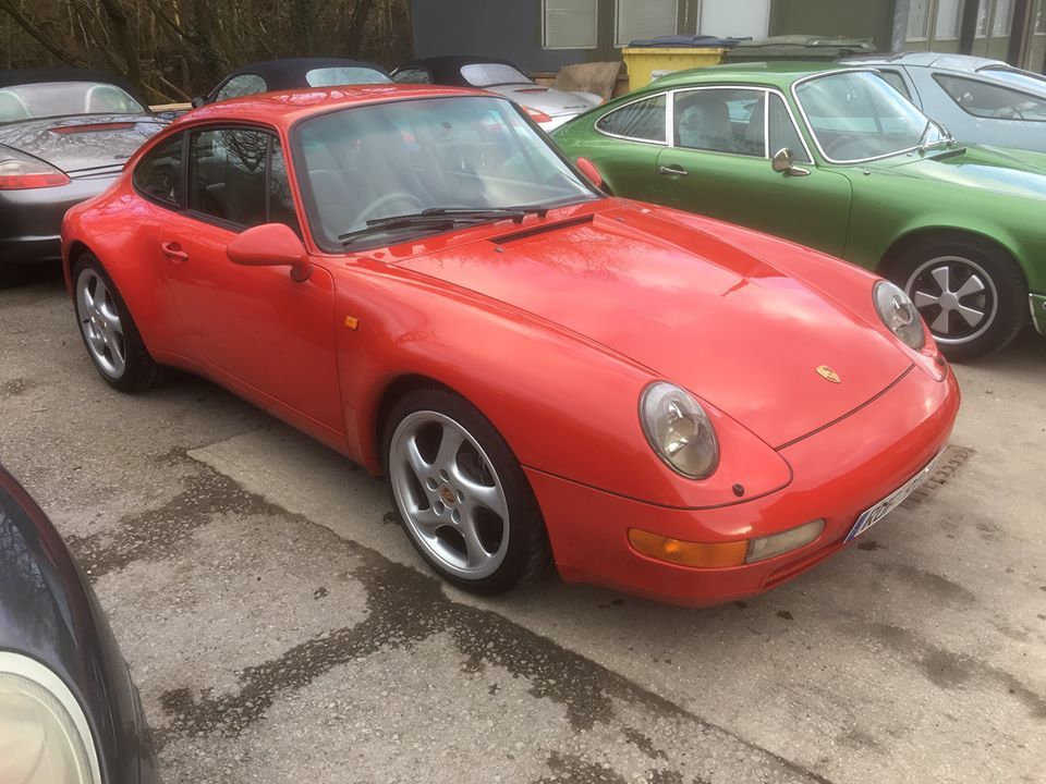 Stunning 1995 Red 993