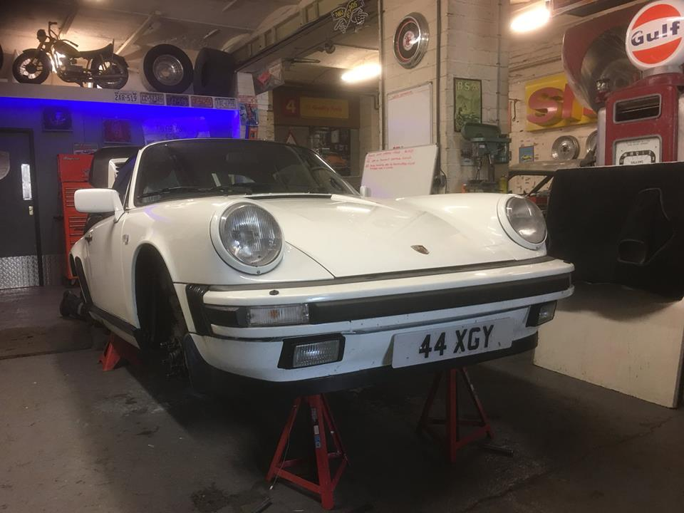 Work As Now Started On Simon's 1989 911 3.2 Targa