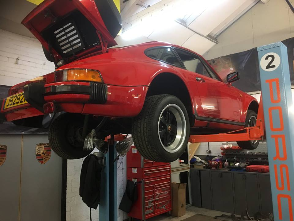 930 Turbo In For Engine Rebuild
