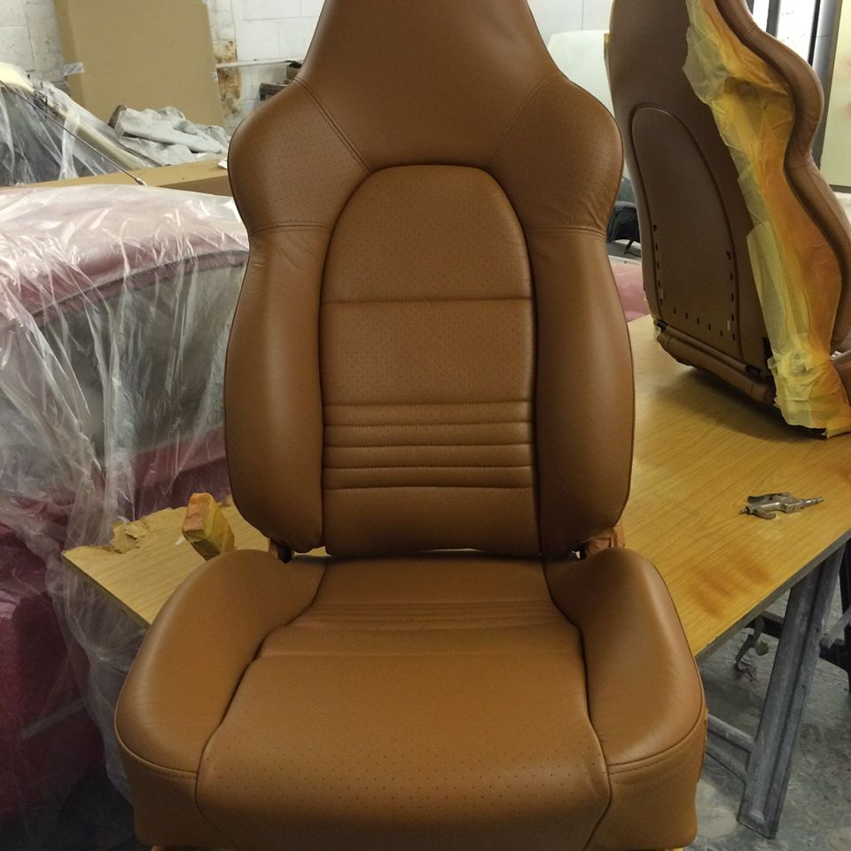Leather Seat Refurbishment For All Models
