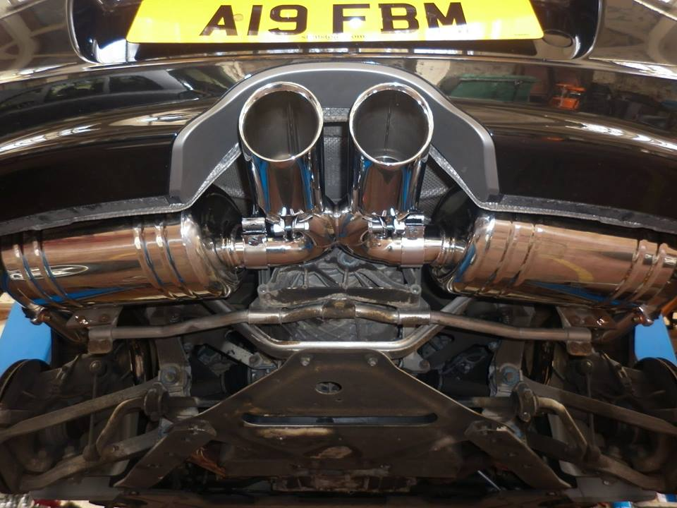 Valvetronic Stainless Steel Sports Exhaust