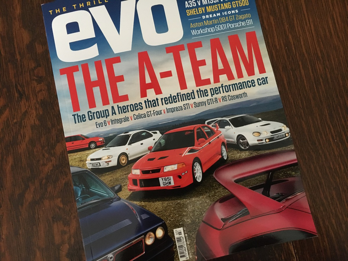 Client Car In Evo Magazine